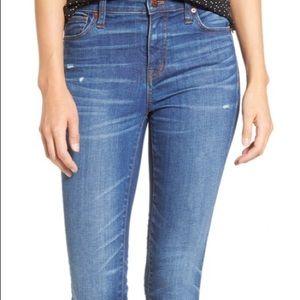 "Madewell 9"" Skinny Jeans"